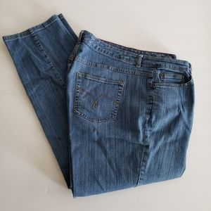 Vintage Just My Size mom blue jeans high waist 20w